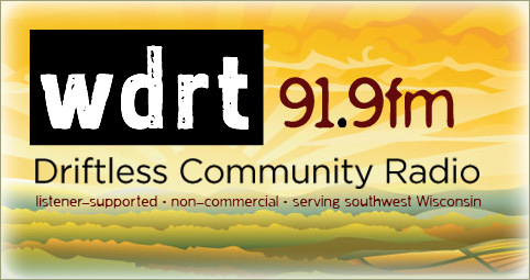 My First Guest Appearance on a Local Radio Show: WDRT in Viroqua, WI